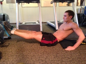 Leg Pull-In: Position 1