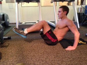 Leg Pull-In: Position 2