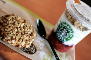 Starbucks Strawberry Blueberry Yogurt Parfait