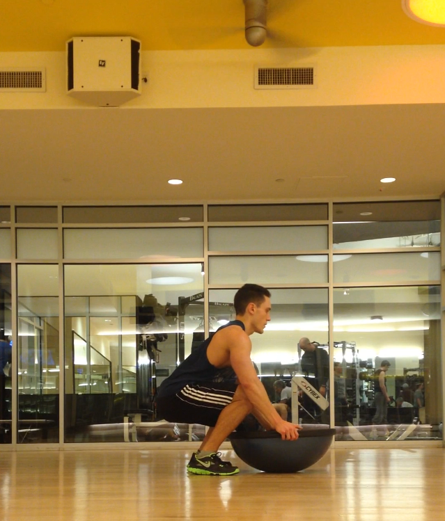Bosu Ball Side Jumps: Core Strength Blog