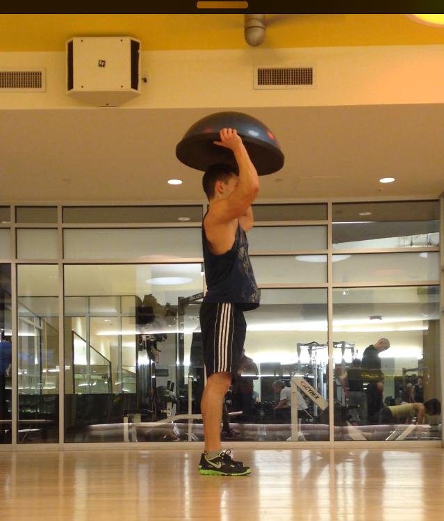 Bosu Ball Burpee Jump: Core Strength Blog