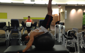 Elevated Reverse Hyperextensions: Step 2