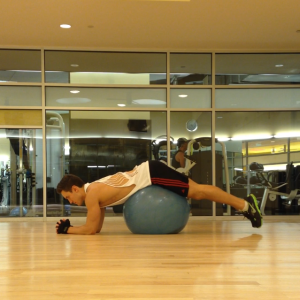 Reverse Back Hyperextension: Step 1