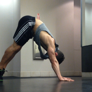 Shoulder Pushup: Step 1