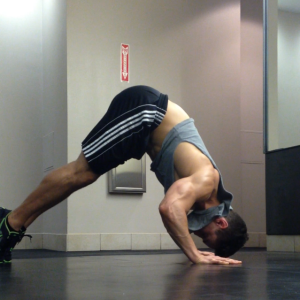 Shoulder Pushup: Step 2